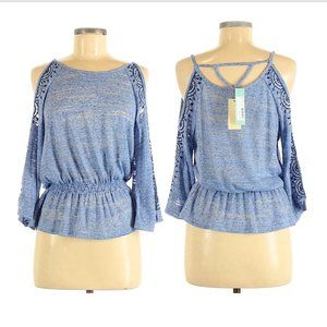 NWT Skies are Blue Eriane Cold Shoulder Kn…